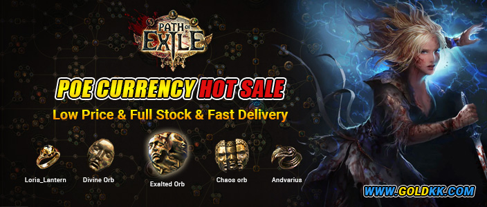 Buy Poe Curency & Items On Goldkk.com
