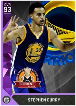 nba 2k17 myteam rating 95 stephen curry