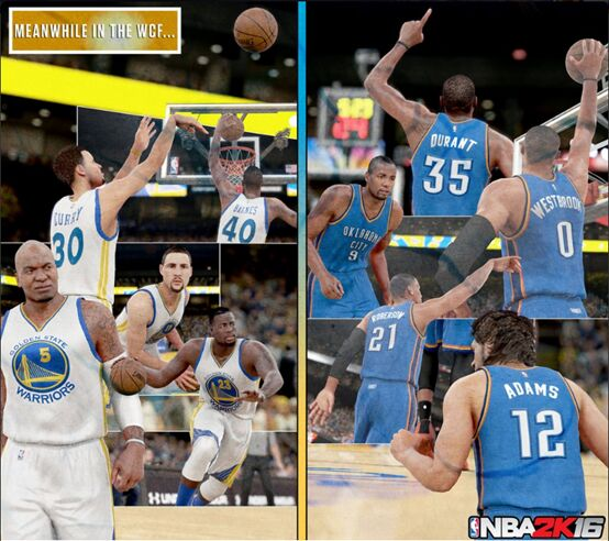Warriors Vs Rockets Game 7 Live Stream For Free: Thunder Best Warriors; NBA 2K16 MT Releases Westbrook
