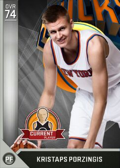 nba 2k17 myteam player Kristaps Porzingis