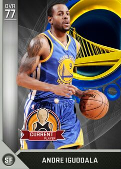 nba 2k17 myteam player Andre Iguodala