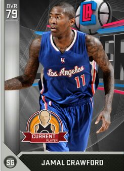 nba 2k17 myteam player Jamal Crawford