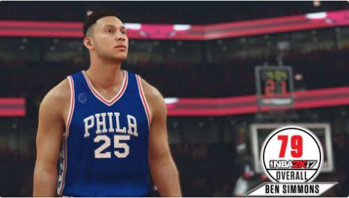 nba 2k17 ratings Ben Simmons