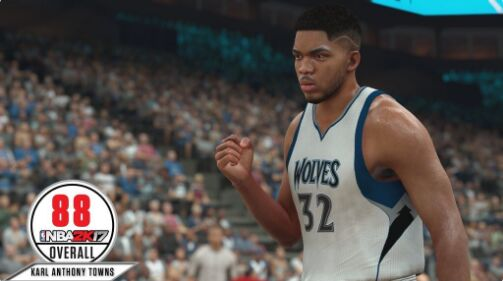 nba 2k17 ratings Karl-Anthony Towns