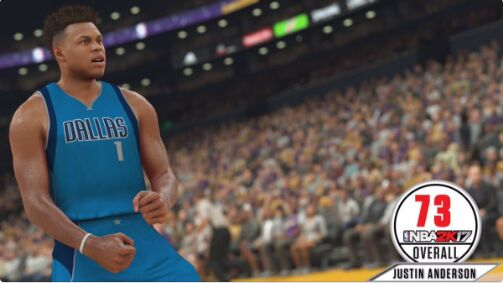nba 2k17 ratings Justin Anderson