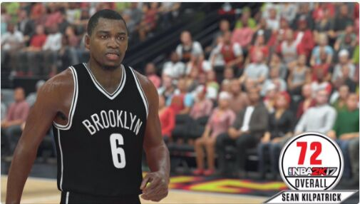 nba 2k17 ratings Sean Kilpatrick Jr