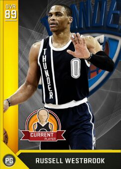 nba 2k17 ratings Russell westbrook