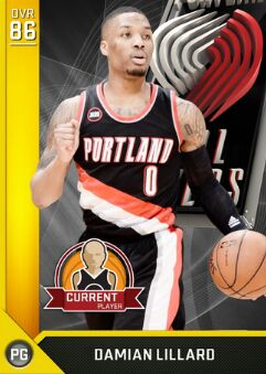 nba 2k17 ratings Damian Lillard