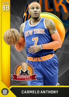 nba 2k17 ratings carmelo anthony