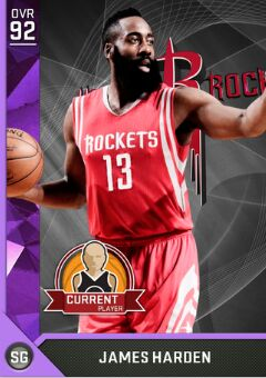 nba 2k17 ratings James Harden