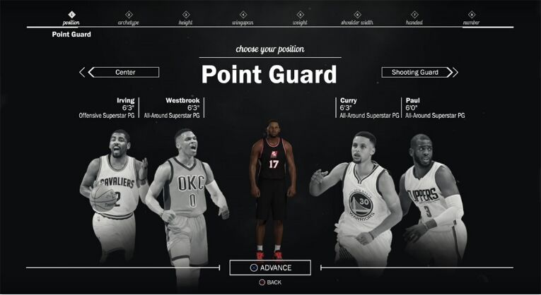 nba 2k17 mycareer coin guard