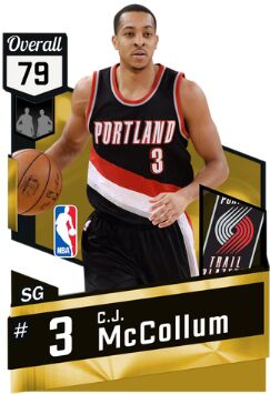 nba 2k17 mt cj mccollum 3pt