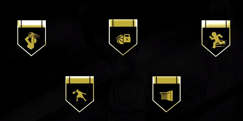 nba 2k17 hall of fame badges