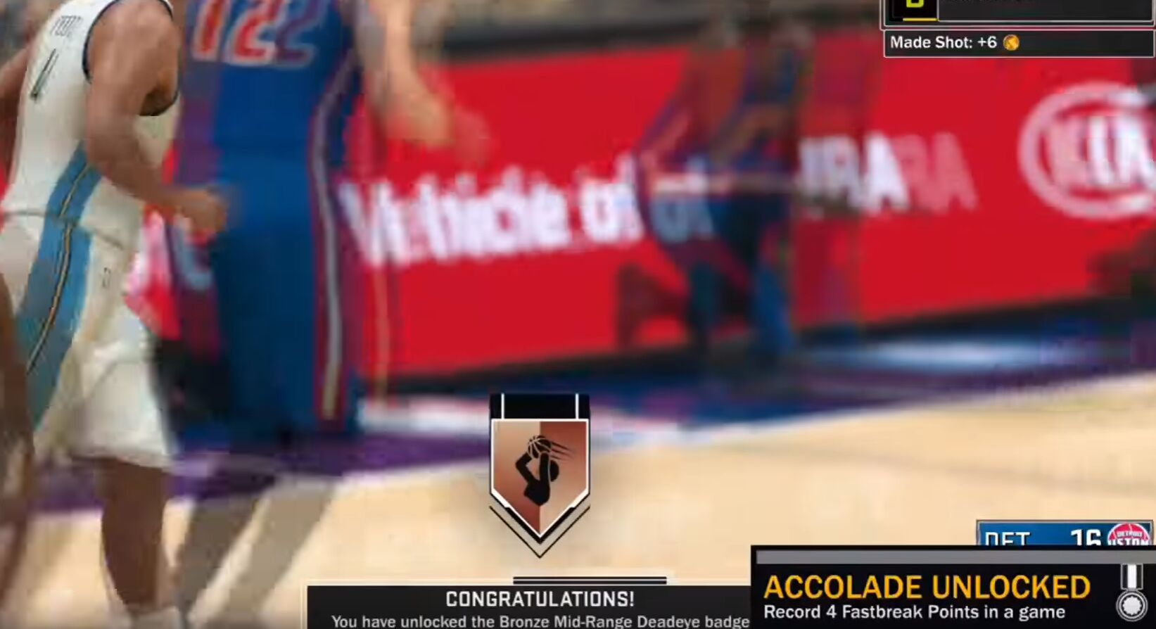 NBA 2K17 Deadeye Badge