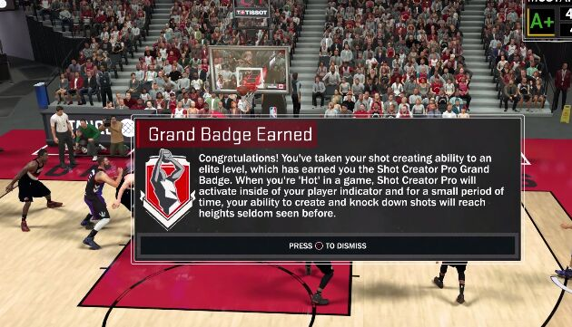 nba 2k17 badge grand badge earned