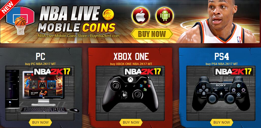 NBA Live Mobile Coins Online Store