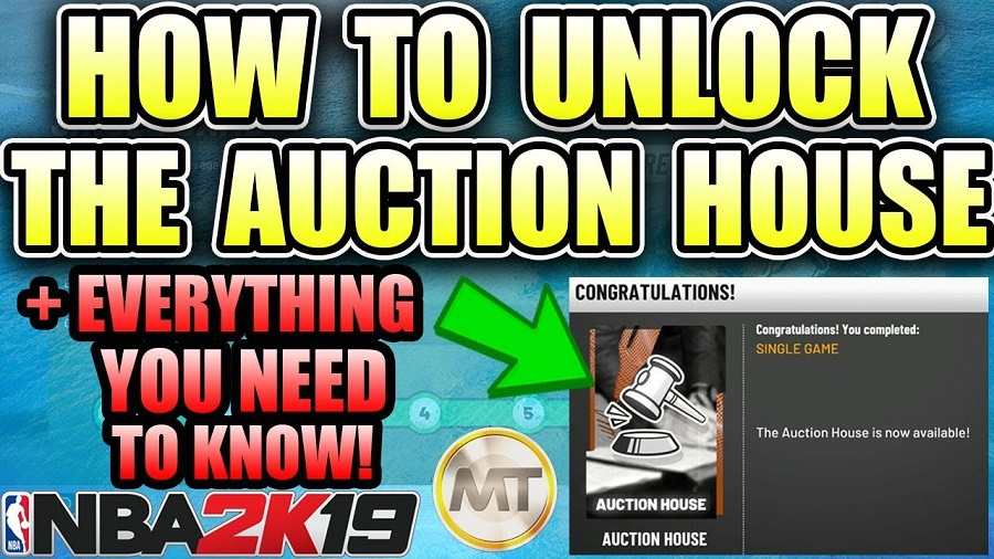 NBA 2k19 Auction House Guide - How to Unlock Auction House