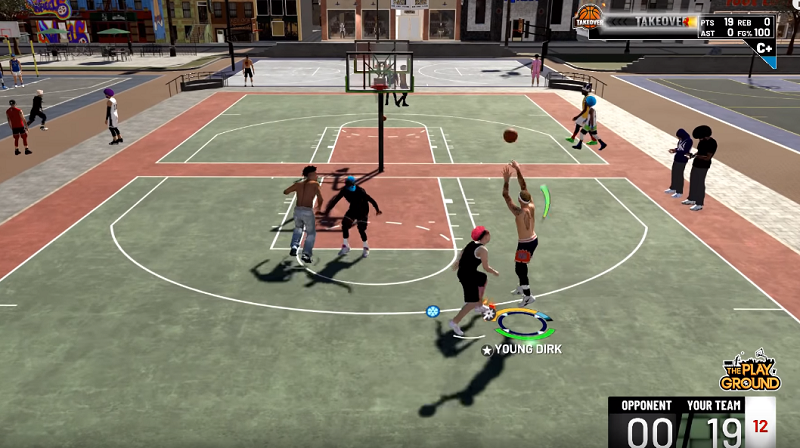 how to do a catch and shoot in nba 2k19 myteam