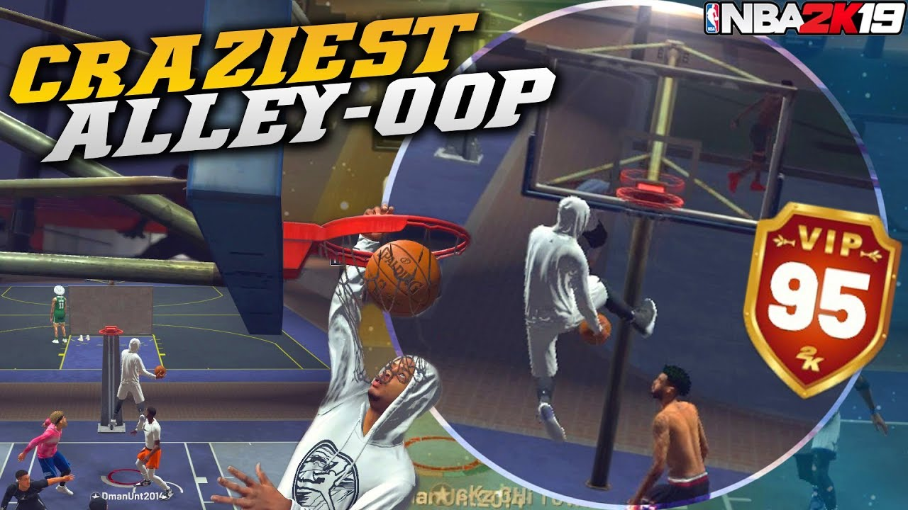 nba 2k19 alley oop tutorial - how to throw auto & multi alley oop