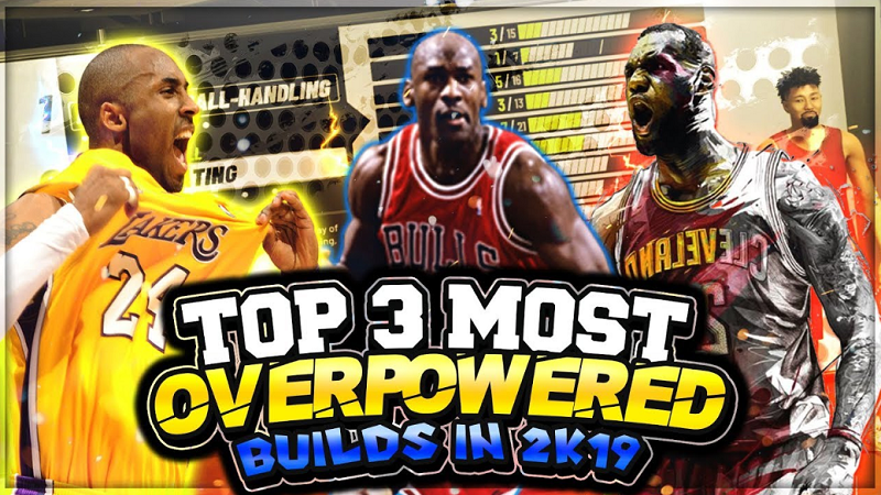 Top 3 NBA 2K19 Best Builds